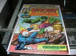 1973 Vol. 1 Ghost Rider Complete Set 1- 81 Key Books High Grade