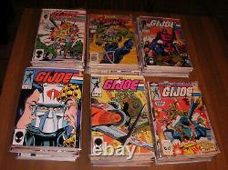 1982 Gi Joe # 1 to # 155 Marvel Comics Bronze Age 186 Comic Books BIG SALE