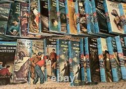 58 Vintage HARDY BOYS BOOKS HC Matte SET 1-58 DIXON Instant COLLECTION (-#53)