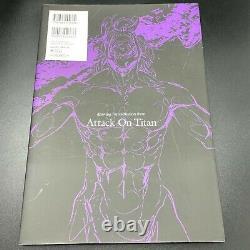 ATTACK ON TITAN Shingeki No Kyojin Art Book Complete Set of 5 vol. 1-5 USED JPN