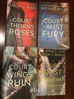 A Court of Thorns and Roses First 4 Book Set by Sarah J. Maas ACOTAR Original
