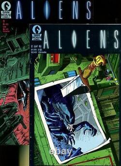 Aliens 1,2,3,4,5,6 (of 6) (1988) ^6 Book Lot^ Dark Horse Comics! 1st Appearances