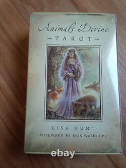 Animals Divine Tarot Deck & Book Set, Lisa Hunt Brand New Manufacture Sealed