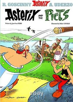 Asterix Comic Books Collection Box Set, 37 Brand New PBs, Big Size -Gift Quality