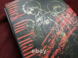 Attack On Titan / Shingeki No Kyojin Art Book vol. 1-5 full set