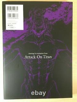 Attack on Titan Vol. 1-5 Illustration Art Book Complete All Full Set Collection