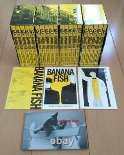 BANANA FISH Reprinted BOX VOL 1 4 Complete Set in Japanese Akimi Yoshida Comic