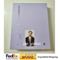 BTS Memories Of 2018 Photo Book +DVD Full Set RM Photo Card + Free Express