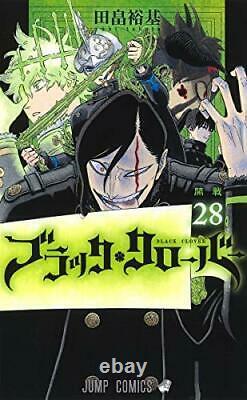 Black Clover Manga Vol. 1-28 Lot Set Comic Japanese Edition Book