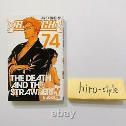 Bleach Vol. 1-74 Manga Comic Book Complete Lot Set Tite Kubo Japanese