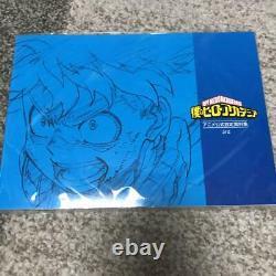 Boku no My Hero Academia Anime Official 1 2nd 3rd Art book Set TV Anime USED