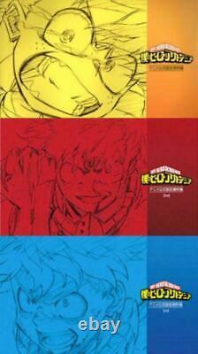 Boku no My Hero Academia Anime Official Design Art book 1 2 3 set TV Anime