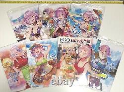 C98 Redrop dojin Fate Grand Order FGO Illustrations book 1 to 7 set art fgo