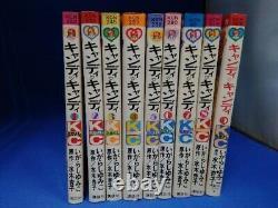 CANDY CANDY Manga 1 9 Complete Set Igarashi Yumiko Comic japanese book