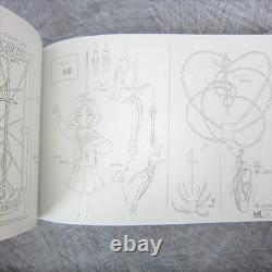 CARDCAPTOR SAKURA Animation Art Set CLAMP Art Works Book Model Sheet Ltd