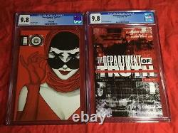 CGC 9.8DEPARTMENT OF TRUTH #1 2 3 4 5 6FIFTEEN BOOK SET1st PRINT+2ND+VARIANT