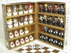 CLAMP NO KISEKI Complete Art Set 38 Chess Pieces Box Board KERO SUPINEL Book