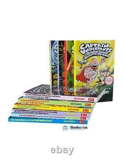 Captain Underpants 10 books Set Collection