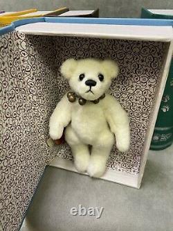 Charlie Bears Set of Six Plush Hug Book Collection