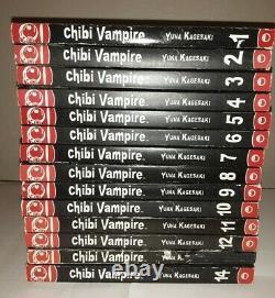 Chibi Vampire Complete Set 1-14 Yuna Kagesaki ENGLISH Manga Softcover Books