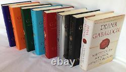Complete Diana Gabaldon Outlander Series Eight Book Hardcover Set Collection