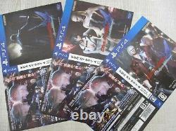 DEVIL MAY CRY 4 Special Edit PIZZA BOX Art Book Complete Set PS4 CAPCOM Ltd