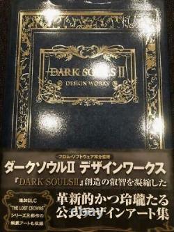 Dark Souls Design Works Complete set Hardcover Illustration Art Book USED