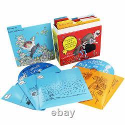 David Walliams 5 Audio Book CD Collection Gift Box Set Ratburger Mr Stink Granny