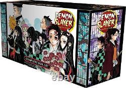 Demon Slayer Complete Box Set Books 1-23 by Koyoharu Gotouge (Paperback, 2021)
