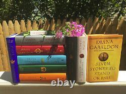Diana Gabaldon Hardcover Outlander Series Nine Book Set Books 1-9 Complete! New