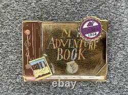 Disney Shopping Pixar Up My Adventure Book Pin Set LE 125 Grape Soda Ellie Carl