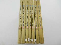 Dragon Ball Daizenshuu Complete Illustrations Akira Toriyama World 1-7 set Used