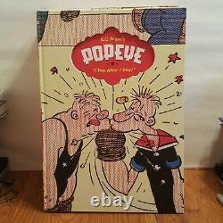 E. C. Segar's Popeye Hardcover Reprint HC Books Fantagraphics Complete Set 1-6