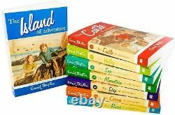 Enid Blyton Adventure Series 8 Books Set Collection Valley of Adventure