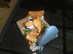 Extremely Rare! Walt Disney Jungle Book LE Figurine Bookends Statue Set