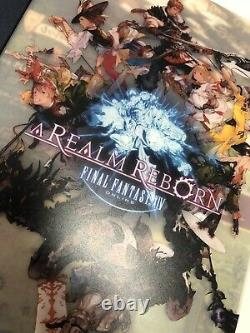FINAL FANTASY XIV 14 The Art of Eorzea Reborn Limited book 3 set square enix ff