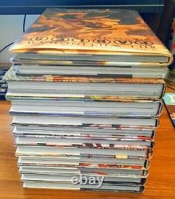 Fables The Deluxe Edition Hardcover TPB Set 1-10 + 2 Extra HC Books DC Vertigo