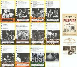 Foxfire Series Collection Set 1-14 incl. # 1-12 + 40 & 45 Anniversary Books! NEW