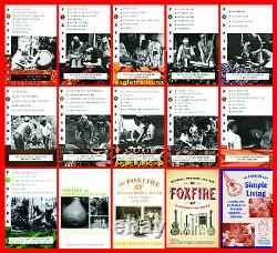 Foxfire Series Set 1-15 incl. 40 & 45 Anniversary Books & Simple Living NEW