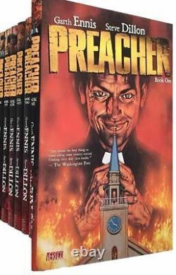 Garth Ennis Preacher 6 books collection set, Garth Ennis, New Book