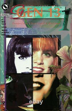 Gen 13 Slipcase Book Set J Scott Campbell Signed Ltd Ed New 1995 Image Amricons