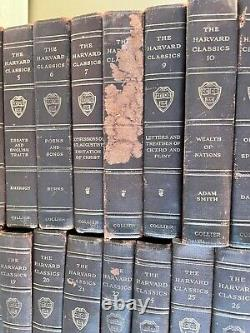 HARVARD CLASSICS Collection The Five Foot Shelf of Books 1909-1910 Set of 43