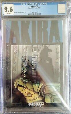 HUGE Akira lot #1-37 Epic Comic Book Set 9.6 CGC #37! Included