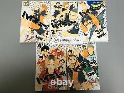 Haikyu! 1-45 Japanese language Comics Complete full set Manga book haikyuu