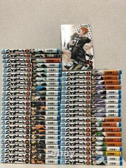 Haikyuu 1-45 set comic Haruichi Furudate anime manga book