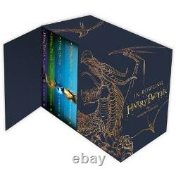 Harry Potter 7 Books The Complete Collection Hardback Box Set Magical Gift Set