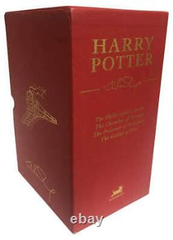 Harry Potter Bloomsbury Signature Book Set 1st Edition Vol 1-4 Unsealed