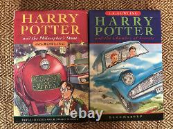 Harry Potter Book Set 1-7 First Edition Bloomsbury Complete Hardback Collection