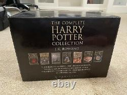 Harry Potter Complete Hardback Collection Adult Edition Full Set Of 7