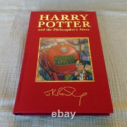 Harry Potter Deluxe Signature Book Set 1-7 First 1st Edition Rare J K Rowling